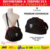 PREMIUM Cover Helm Funcover | Tas Helmet Waterproof Slingbag
