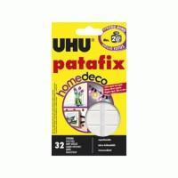 Double Tape UHU Kuat Patafix Homedeco 2 Kg ( Busa Tebal ) - 72 Pcs
