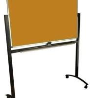 Softboard SAKANA 120 x 180 cm Polos Papan Pin Board 120x180 (Kaki)