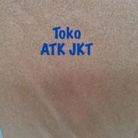 Softboard SAKANA 90 x 180 cm Polos Papan Pin Board 90x180 (Kaki)
