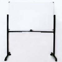 Whiteboard SAKANA 120 x 180 cm Double Face - Papan Tulis White (Kaki)