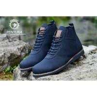 Sepatu boots moofeat brodo pentura agen fashion