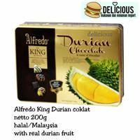 Alfredo king durian coklat 200g chocolate