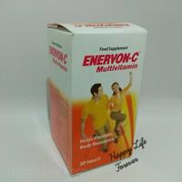 Enervon-C - suplemen makanan - multivitamin - 30 tablet