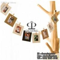 Frame Foto Gantung/ Bingkai Foto Gantung / Wooden Clip Photo Frame 2R
