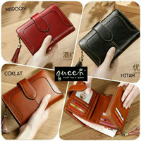 Wallet Mini Leather Dompet Kulit Mini Wallet Card Dompet Wanita Murah