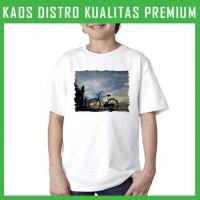 Kaos Anak Sepeda 6 ANK-AFT38 Laki / Perempuan