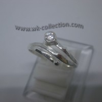 Cincin Wanita-Simple Elegan-Perak 925 (seri RL003)