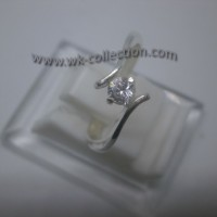 Cincin Wanita-Simpel Elegan-Perak 925 (seri RL004)