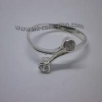 Cincin Perak 925-All Size / Semua Ukuran / Adjustable (seri RL005)