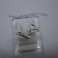 Cincin Wanita-Simple Elegan-Perak 925 (seri RL009)