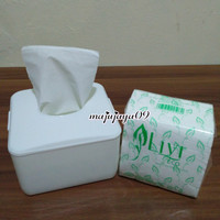 Kotak tissue pop up / tempat tissue meja murah