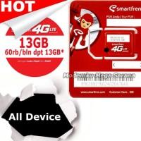 KARTU PERDANA SMARTFREN GSM60 KUOTA 13GB + 24GB ALL DEVICE