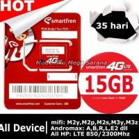 KARTU PERDANA SMARTFREN GSM75 KUOTA 15GB | 35 HARI