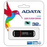 ADATA FlashDrives UV150 - Flashdisk USB 3.1 Super Speed 32 GB Black