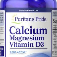Puritan Calcium Magnesium with Vitamin D (120 Caplets) From USA