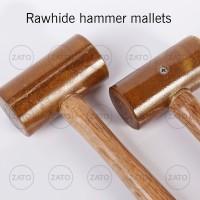 Rawhide hammer mallets - palu kulit - leather tools