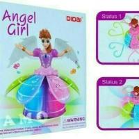 MAINAN ANAK ANGEL GIRL FROZEN DANCE LIGHT