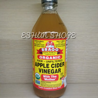 Bragg Brag Organik apple cider Vinegar 473 ml