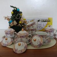 Tea Set - Cangkir dan Lepek - Cup & Saucer Y85 Vicenza