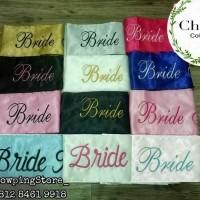 Selempang Bride To Be / Sash Bridal Shower BORDIR