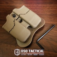Double Magazine Pouch Tactical Cytac 1911 Mag Pouch Holster Airsoft