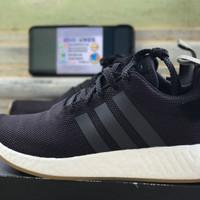 Adidas NMD R2 Black Gum 100% Authentic Original