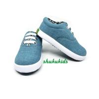 Sepatu Sneaker Anak Laki-laki Perempuan Denim Trendy Casual by SHUKU