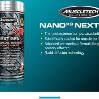 Muscletech Nano X9 Next Generation ! Suplemen fitness malang surabaya