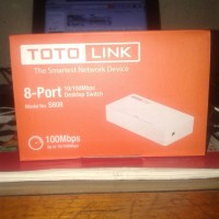 jual TOTO link S808 8 port  switch 10/100 Mbps