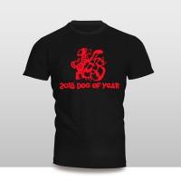 Kaos Baju Pakaian KAOS IMLEK DOG OF YEAR 2 MURAH
