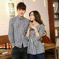kemeja couple | baju couple korean style