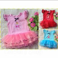 Set tutu balerina dress anak murah 6-18 bulan