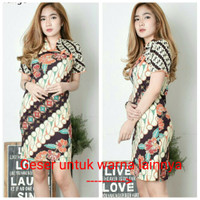 Dress Batik Chira 4/Dress Batik Katun Stretch