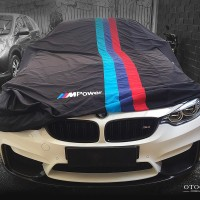 COVER MOBIL OTOCOVER BMW M POWER EDITION PERTAMA SE-INDONESIA - Seri 2