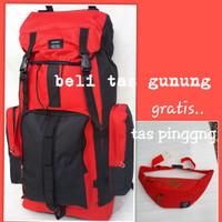 tas gunung/Tas Ransel Gunung Pria Wanita sportex 60L/tas murah
