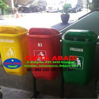 Harga Tempat Sampah Fiberglass Organik Non Organik Dan B3 001