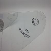 Kaca Helm untuk NHK GP1000 GP TECH Terminator GM.  Kualitas Bagus