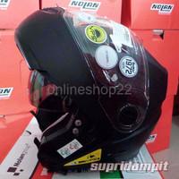 IMC Helm Nolan N104 Classic Flat Black Modular Touring double visor
