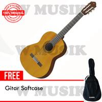 Yamaha Gitar Akustik C 40 / C40 - Natural + Softcase