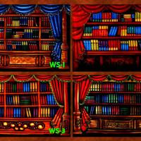 Background Wisuda / Rak Buku 3 x 2.5m