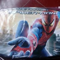 meja lipat karakter spiderman