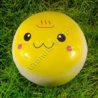 [MENGKERUT] Squishy Jumbo Onsen Bun Warna Kuning 10 cm