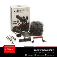 "RODE VIDEO MICRO + Free Adapter Mic 2.5"""