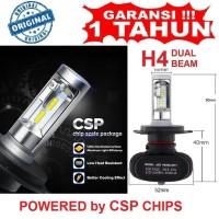 Lampu Mobil LED H4 Dual beam CSP Chips