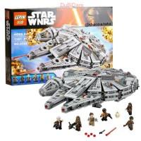 DUBIDAM Lego Compatible Lepin 05007 Star Wars Millenium Falcon 1381pcs