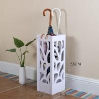 Tempat Payung Minimalis kayu warna putih di rumah, Stand umbrella R35
