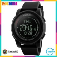 SKMEI Jam Tangan Kompas Digital Pria - 1289 - Black