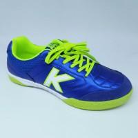 Sepatu futsal kelme original Land Precision blue stabilo new 2018