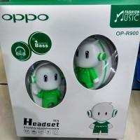 MUMER...!! HEADSET BANDO OPPO BONEKA OPPO 3D Limited